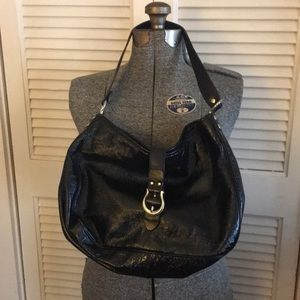 Authentic Kate Spade Black shimmery crunch purse